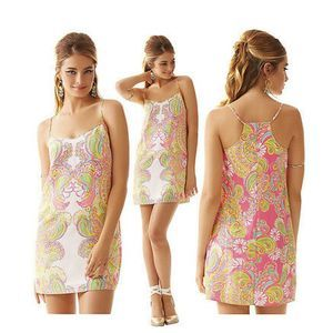 Lilly Pulitzer Dusk Hotty Pink Double Trouble